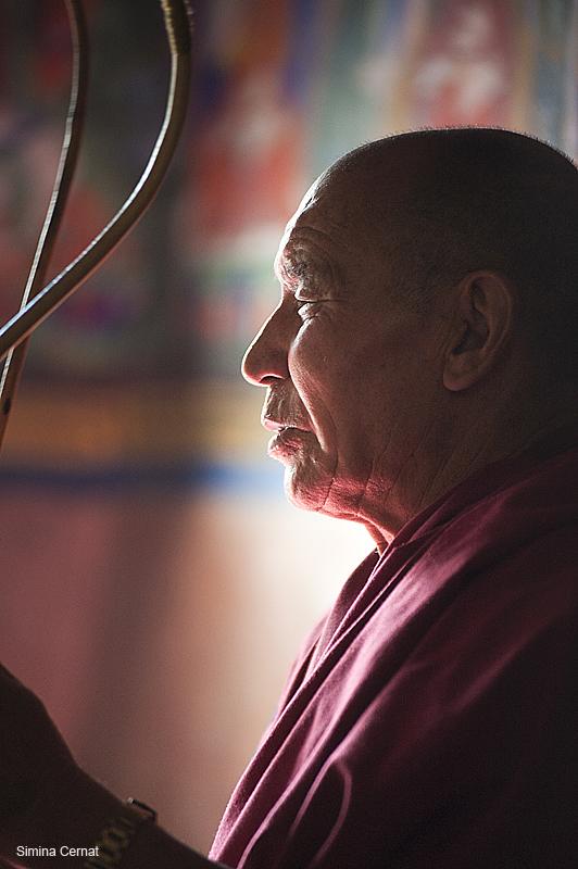 Buddhist monks in Ladakh, India