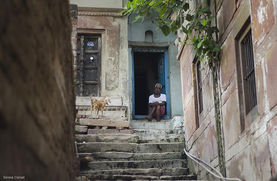 Man in Varanasi India