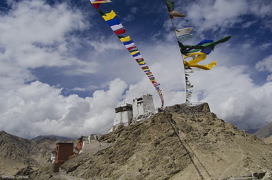 Buddhist monastery in Ladakh India