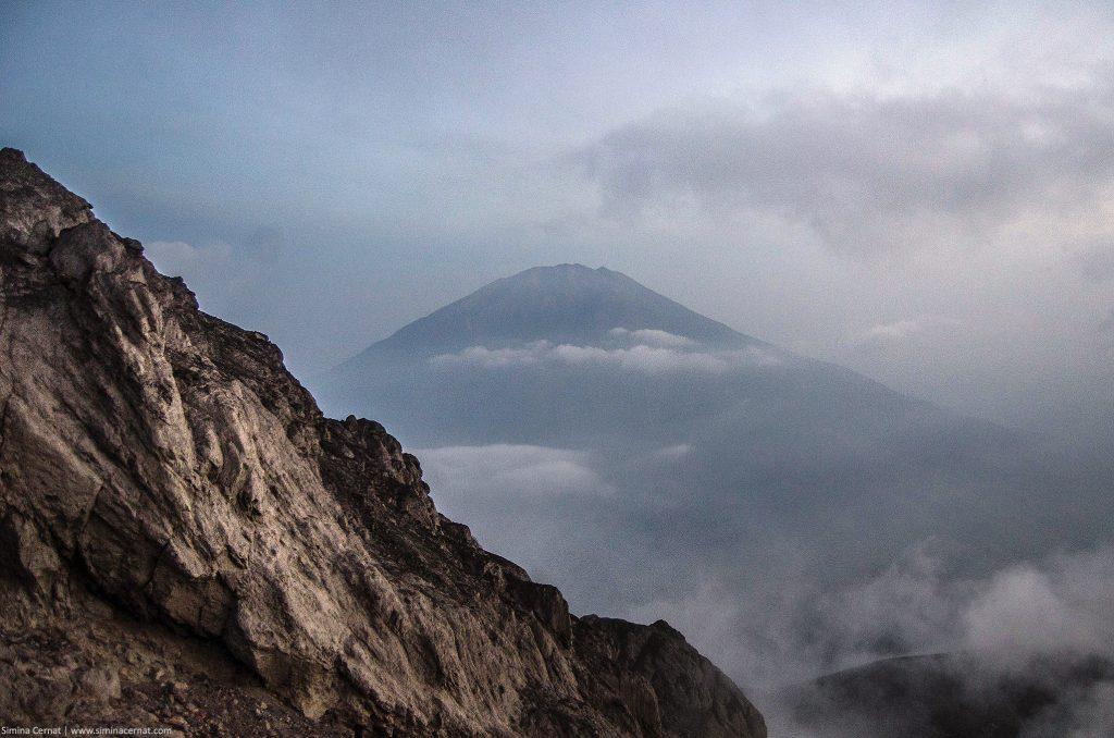 Climbing Merapi Volcano