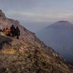 Merapi volcano Indonesia