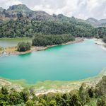 Lake in Dieng Plateau, Central Jawa, Indonesia