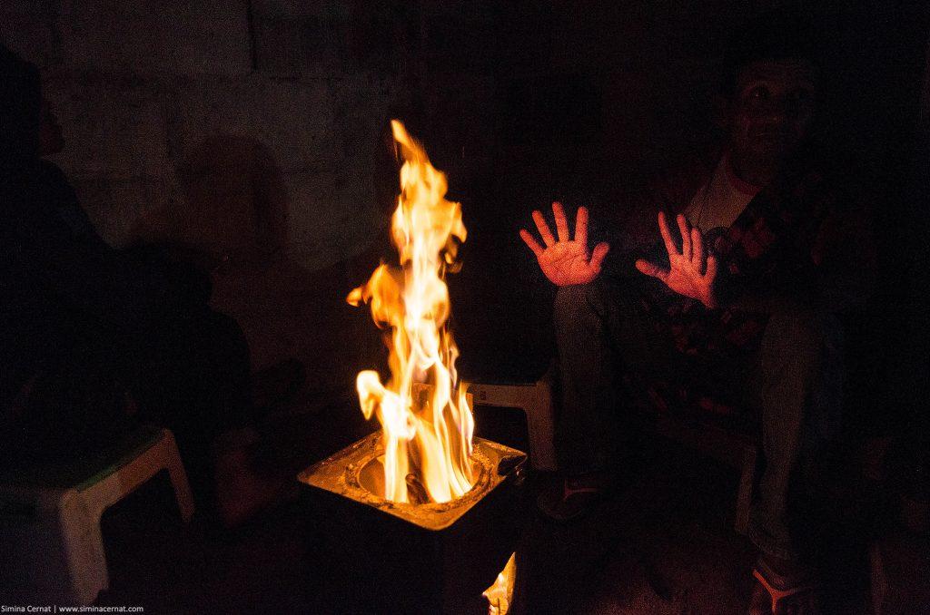 dieng plateau fire