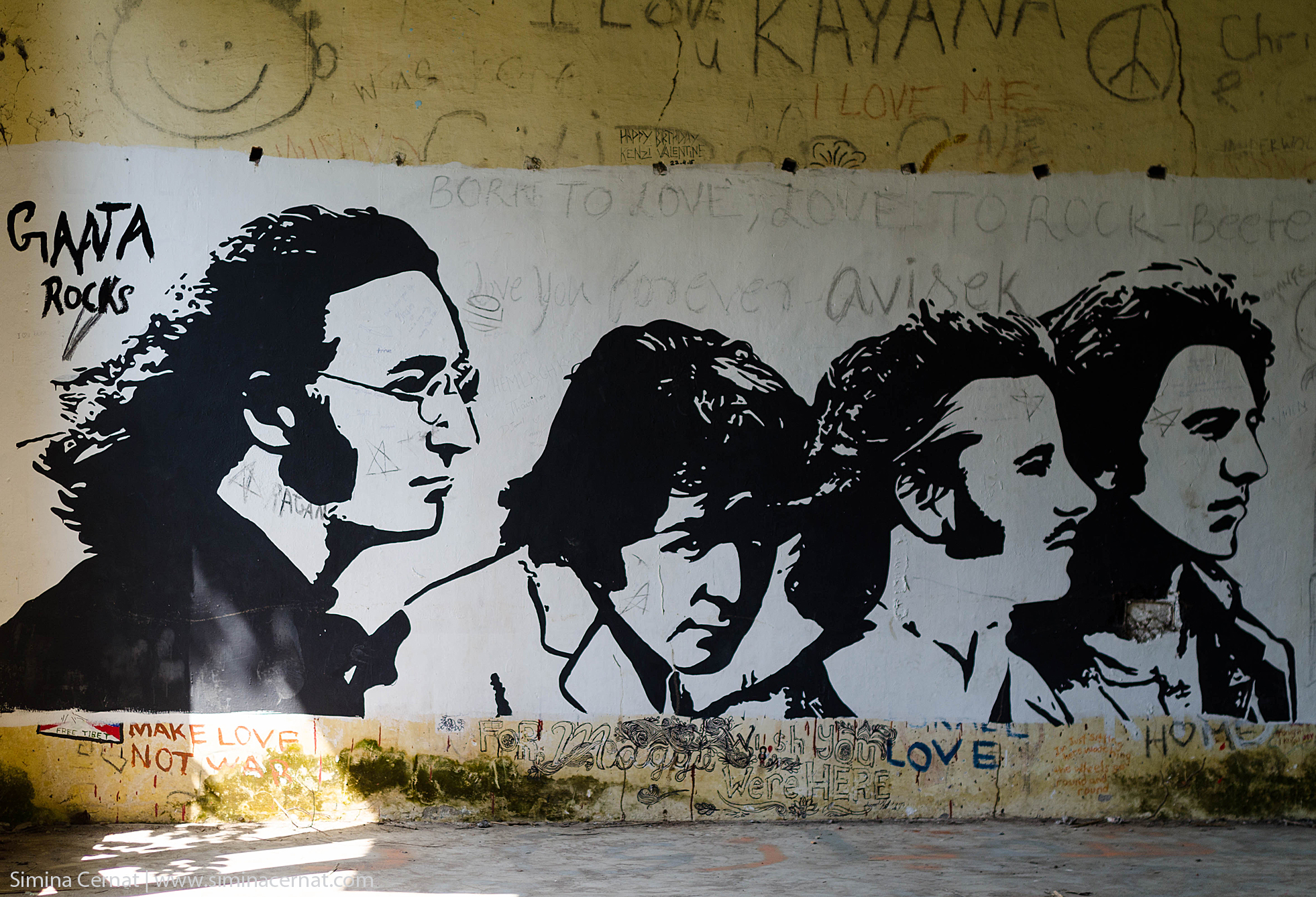 Rishikesh India Beatles Ashram