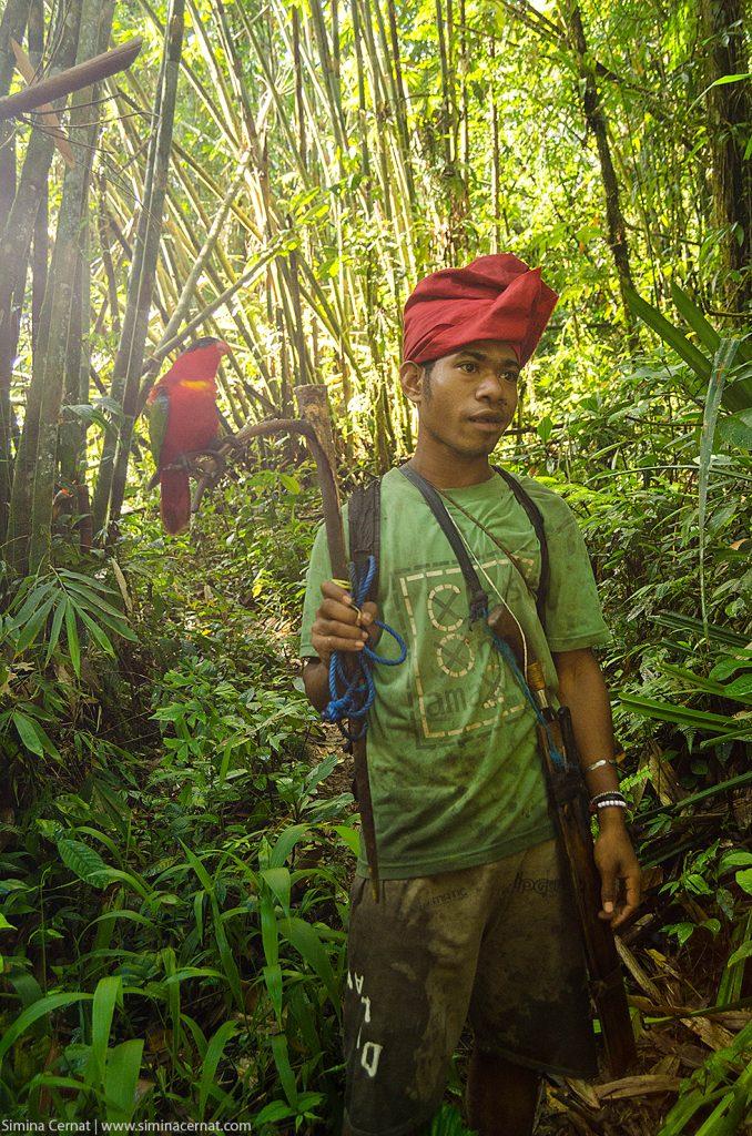 Localnic întâlnit în junglă